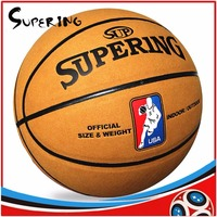 New Arrive Outdoor Indoor Size 7 Leather Basketball Ball Prices Training Basket Ball Basketball Net + Ball Needle Basketbol