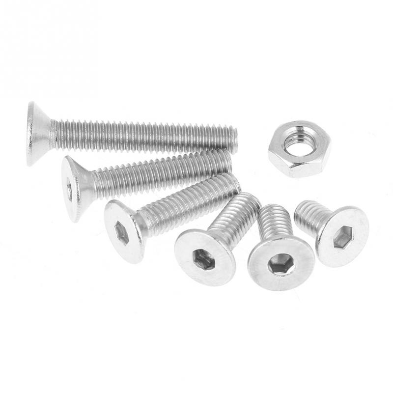 304 Stainless Steel Hardware Supplies Corrosion Resistant for Fastening Insert Nut Rivet Nut Set Fastening Piece