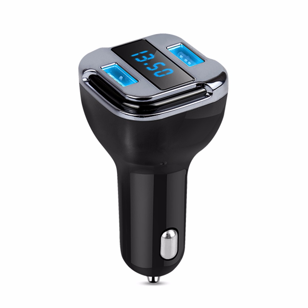 Automobiles & Motorcycles Useful Ootdty Gps Locate Auto Car Charger Tracker Finder Kit Dual Usb Ports With Led Battrey Voltage Display 12v 24v 24w High Quality Ample Supply And Prompt Delivery