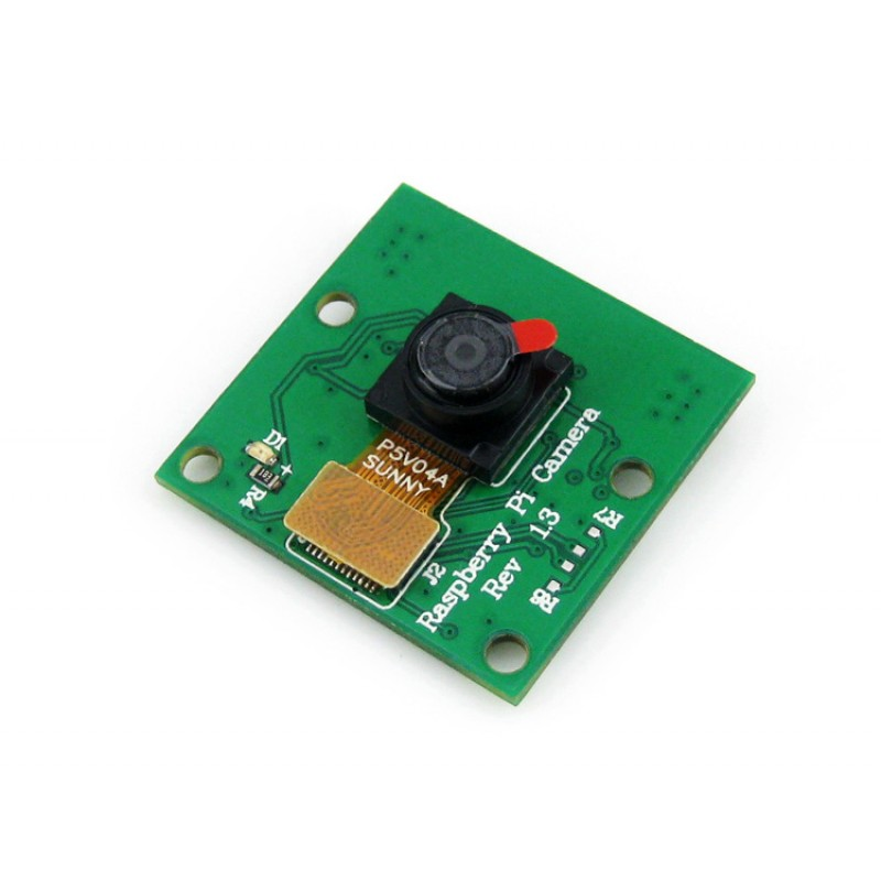 module Raspberry Pi Camera module Kit 5 Megapixel OV5647 Sensor Fixed-focus Compatible With Original Camera for all Revisions of tengying l298n motor driver board for raspberry pi red