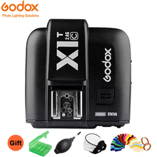 цена Godox X1T-C 2.4GHz E-TTL Wireless 1/8000S HSS 32 Channels Transmitter Trigger For Canon DSLR Camera онлайн в 2017 году