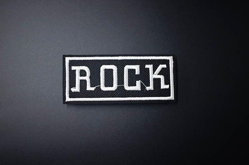 Музыка ткань патч значок вышитые Симпатичные значки хиппи железа на детей мультфильм нашивки для одежды наклейки