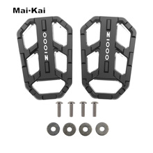 MAIKAI Motorcycle Accessories FOR KAWASAKI Z1000 Z 1000 2003-2009 CNC Aluminum Alloy Widened Pedals стоимость