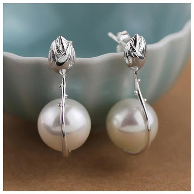 925 Sterling Silver Handmade Earrings