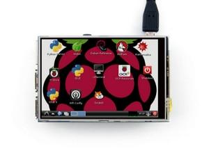 Image 4 - Raspberry Pi 3 Model B Board + 3.5 TFT Raspberry Pi3 LCD Touch Screen Display + Acrylic Case + Heat sinks For Raspberry Pi 3 Kit