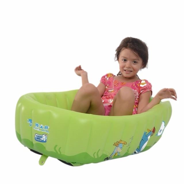 Portatile Gonfiabile Bambino vasca da bagno Piatto Doccia Bidet ...