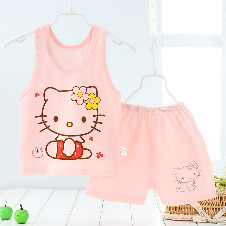 URFine-Girls-Boy-Clothes-Cartoon-Cat-T-Shirt-Short-ChildrenS-Suits-Clothing-Set-Girls-Set-Girls-Suit-ChildrenS-Clothing-3