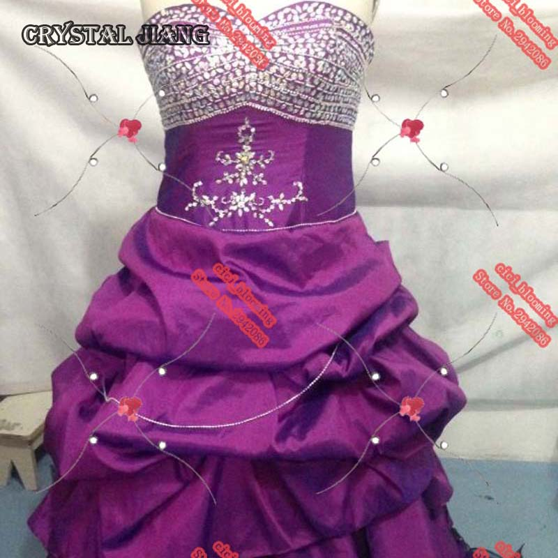 Robes Violettes Taffetas Robe Gothique Alternative
