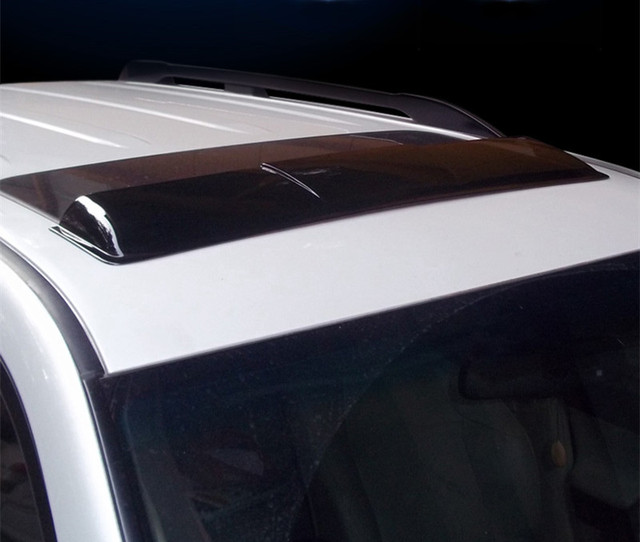 Car Sunroof  rain deflectors gruard weather shdows Acrylic shields  for Toyota Cruiser Prado FJ150 2010 2011 2012 2013 2014 2015