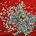 1440pc/bag SS3 1.3-1.4mm White opal Non HotFix FlatBack Rhinestones,Glass Glitter Glue-on Loose DIY Nail Art Crystals Stones