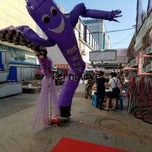 Надувная трубка танцор неба воздушный танцор воздушный марионетка свободный логотип без воздуходувки надувной танцор воздуха/надувной танцор неба человек