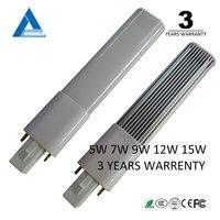 Tubos de bombillas Led 220v G23 lámpara de alta calidad blanco cálido 5w 7w 9w 11W 12w lámpara de mesa bombilla de luz Led