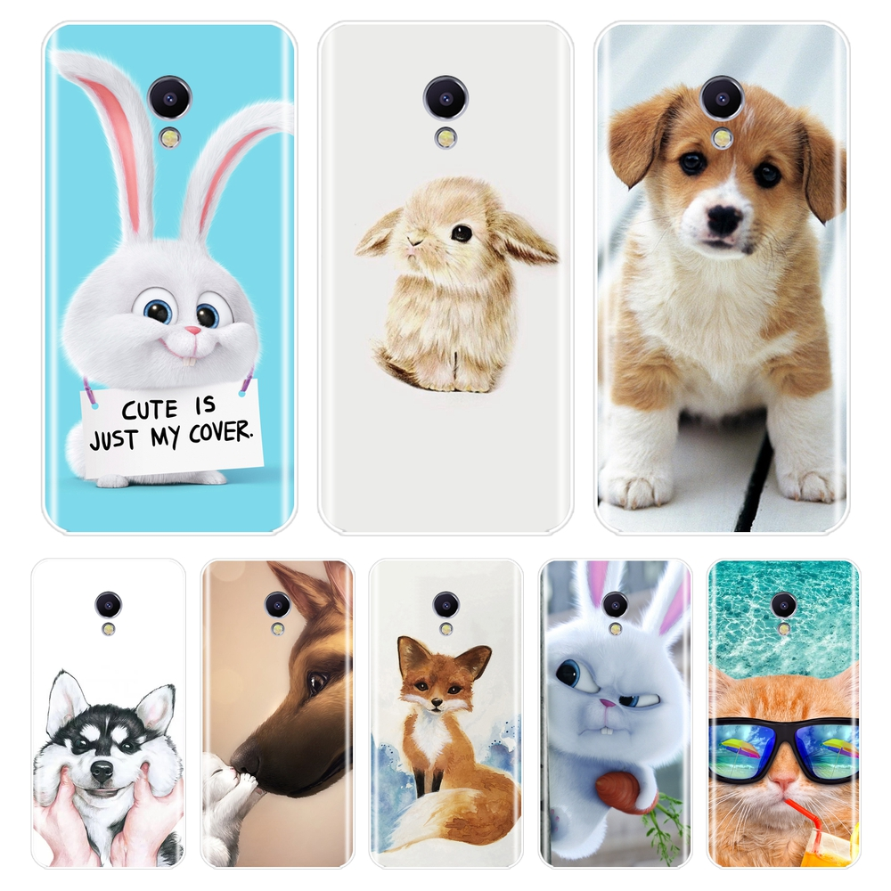 Soft TPU <font><b>Case</b></font> For <font><b>Meizu</b></font> M6 <font><b>M6S</b></font> M6T M5 M5C M5S M3 M3S M2 Cute Animal Silicone Back Cover For <font><b>Meizu</b></font> M6 M5 M3 M2 Note Phone <font><b>Case</b></font> image