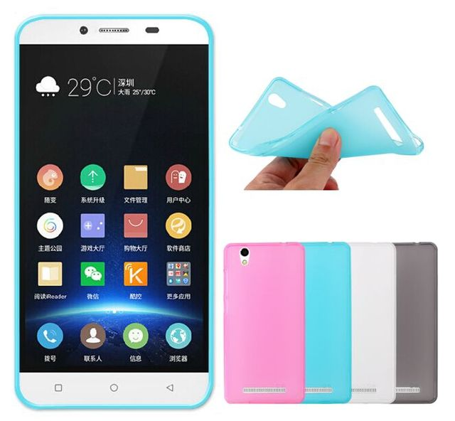100% authentic 7adf8 3bfea US $1.99 |4 Colors TPU Pudding Matte Soft Case for Gionee F103 F103L F103S  Back Cover Silicone Phone Case protector Shell Free shipping on ...