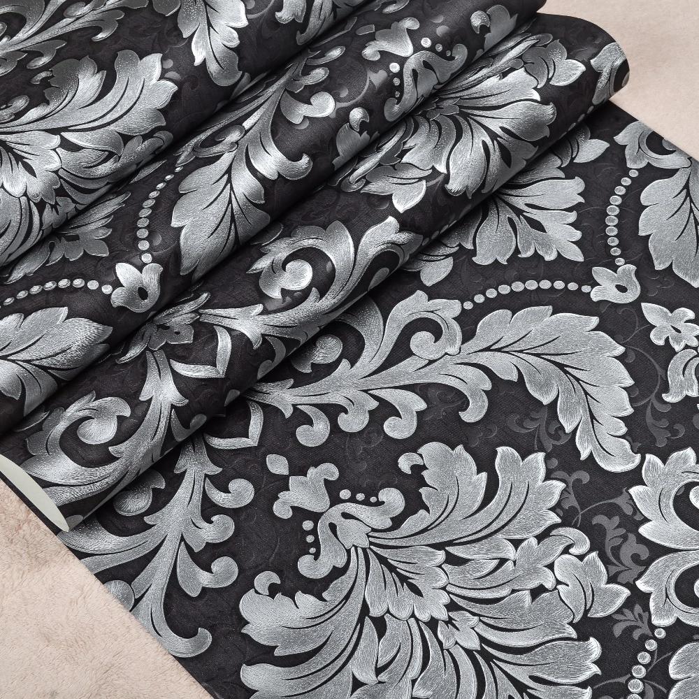 Metallic behang moderne koop goedkope metallic behang moderne ...