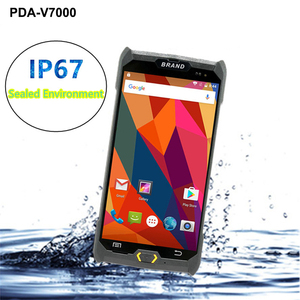 Image 3 - V7000 4G/3G/2G Palmare PDA Android 6.0 Terminale POS Touch Screen 1D/2D lettore Senza Fili Wifi GPS Bluetooth Scanner di Codici A Barre