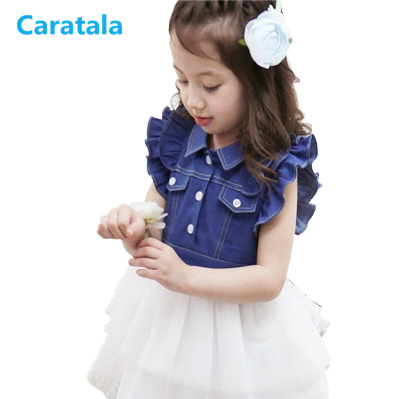 Caratala New Arrival Summer Girls Dress Mother Daughter Dresses Toddler Baby Girl Outwear Children Clothing Brand Kids Dress muqgew 2018 new arrival baby dress