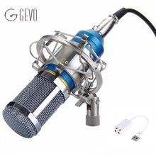 BM 800 микрофон для компьютера Конденсаторный 3.5 мм Проводной С Металлическим Подвесом Для Записи Компьютер Микрофон Microphone For Computer bm-800 bm800