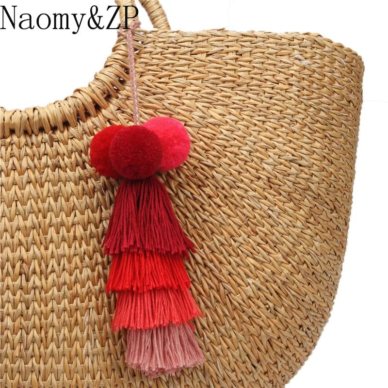 Купить брелок для ключей naomy & zp с кисточкой брелок сумкой ювелирные