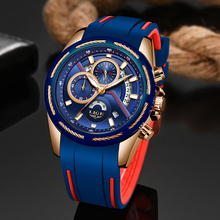 Relogio Masculino LIGE Mens Watches New Top Brand Luxury Men Watch Fashion Sport Quartz Watch Auto Date Clock Relojes Hombre+Box цена и фото