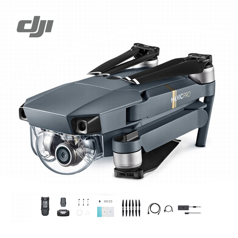 DJI Mavic Pro Drone Set 1080P Camera 4K Video RC Helicopter Drones FPV Quadcopter Official Authorized Distributer Original квадрокоптер набор dji mavic pro 4k quadcopter бпла чёрный