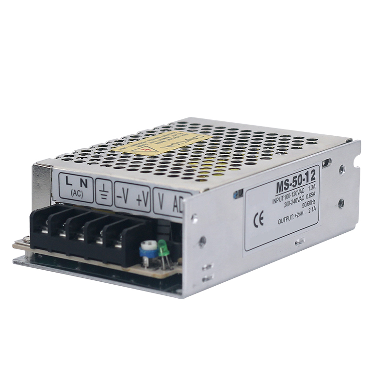 MS-50-12 Switching Power Supply , 85-264V AC Input 5V DC Output 50W LED Driver meanwell 12v 350w ul certificated nes series switching power supply 85 264v ac to 12v dc