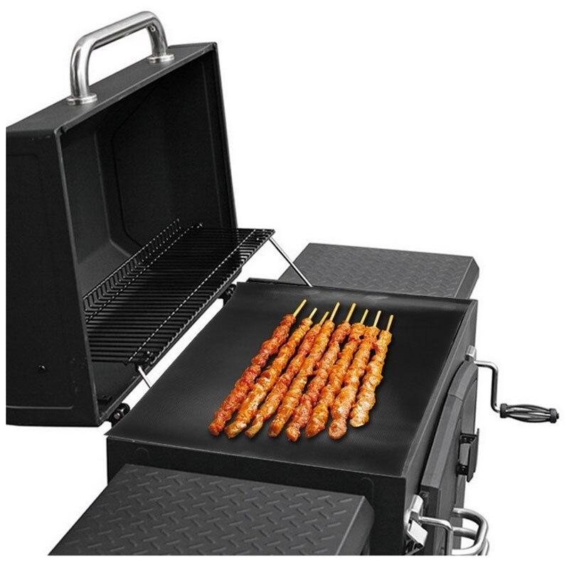 2pcs/lot Reusable Magic BBQ Grill Mats PTFE Fiberglass Fabric Non Stick Teflon Barbeque Grill Mat Pad Sheet BBQ Accessories