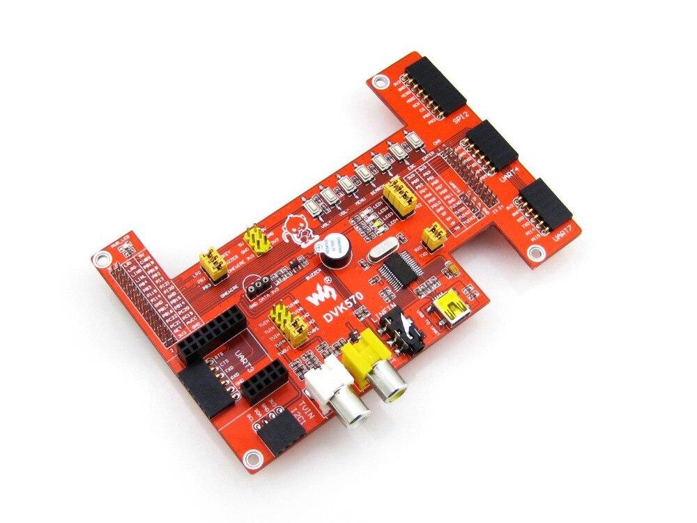 ФОТО Modules DVK570 Cubietruck 3 Cubieboard3 Expansion Board ZigBee+SPI+I2C+UART+PL2303TA+TV various interfaces Evaluation Developmen
