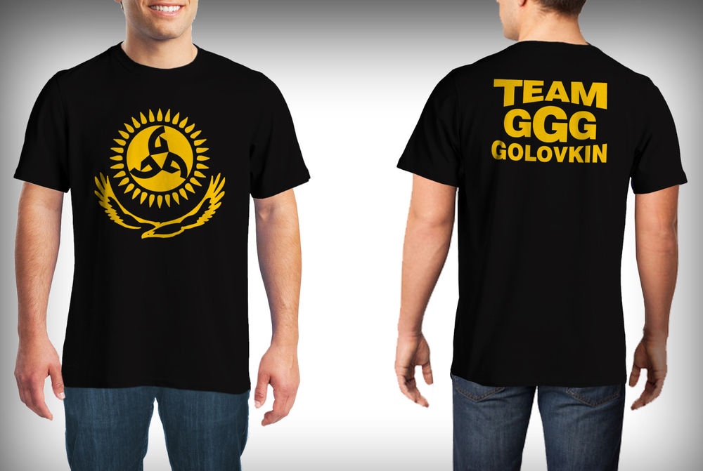 team GGG golovkin men t shirts cheapest t shirts Men's casual round neck cotton short English alphabet men's Tees