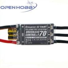 Graupner Brushless Control T 70A ESC BEC Telemetry Brushless ESC Speed Controller for Multicopter