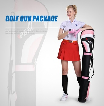 Price PGM Golf Gun Bag with Base Stapless and 6-7 Golf Bag Golf Supplies QIAB002