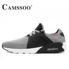 2017 CAMSSOO Mens Sports Running Shoes Sneakers For Men Mesh Chaussure Sport Homme Run Jogging Shoes Sneaker Man Buty Sportowe