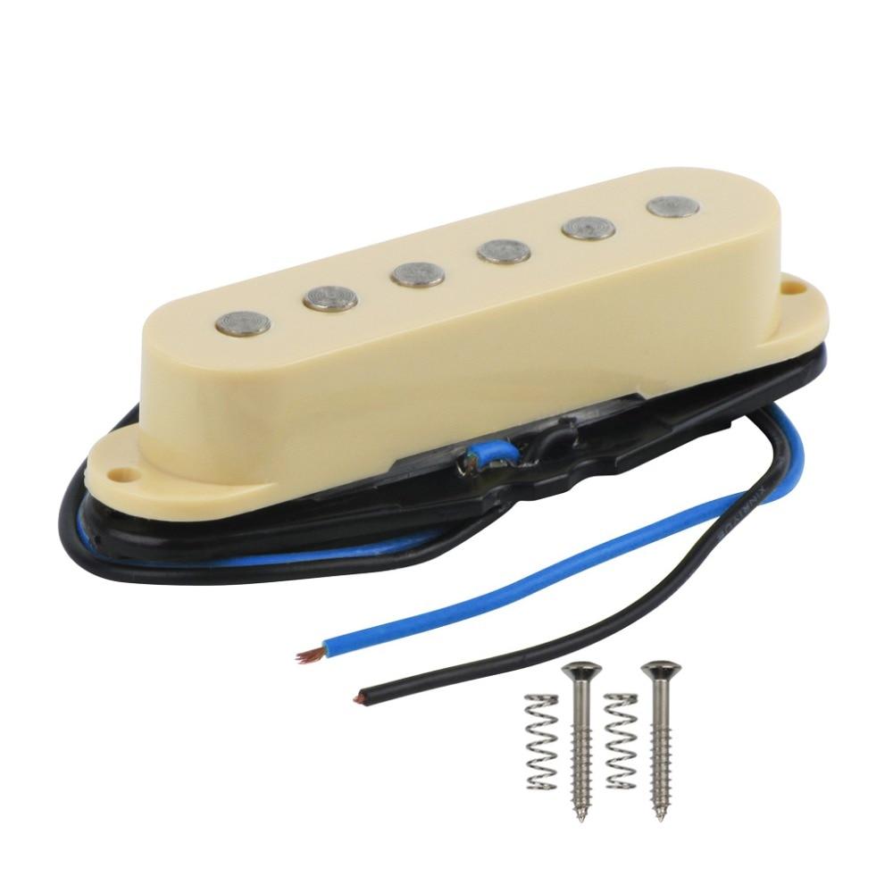 buy new 1pcs guitar single coil pickup 52mm guitar bridge pickup for 6 string. Black Bedroom Furniture Sets. Home Design Ideas