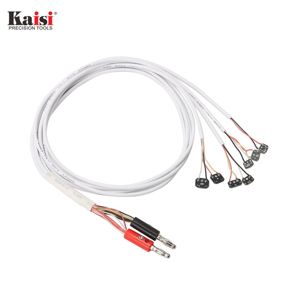 Kaisi Original DC Power Supply Phone Current Test Cable for Apple iPhone 7 7 Plus 6 5S 5C 5 4S 4 Repair Tools multifunctional dc voltage regulator stabilizer cable wire power supply interface cable line mobile phone repair tools usb