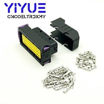 Sistema de control de PCB con conector automático FCI automotriz sellado de 39 pines en forma de ECU