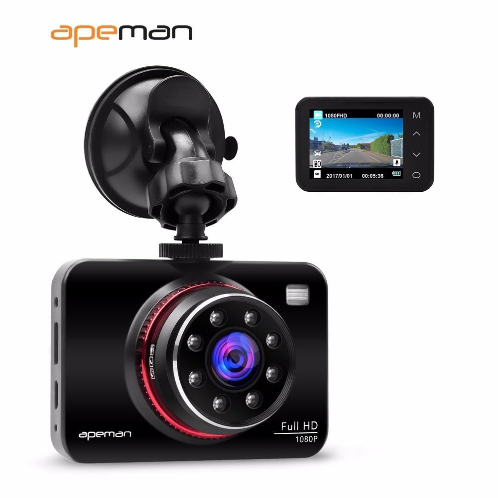 apeman dvr dash cam camcorder c660 1080p ir night vision. Black Bedroom Furniture Sets. Home Design Ideas