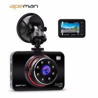 Apeman DVR Dash Cam Camcorder C660 1080p IR Night Vision Car Video Recorder Camera With 2