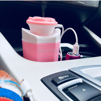 2018 Portable Car Mini Aromatherapy USB Humidifier Air Purifier FOR passat b8 honda accord 2003-2007 e46 subaru vw caddy bmw m4 image
