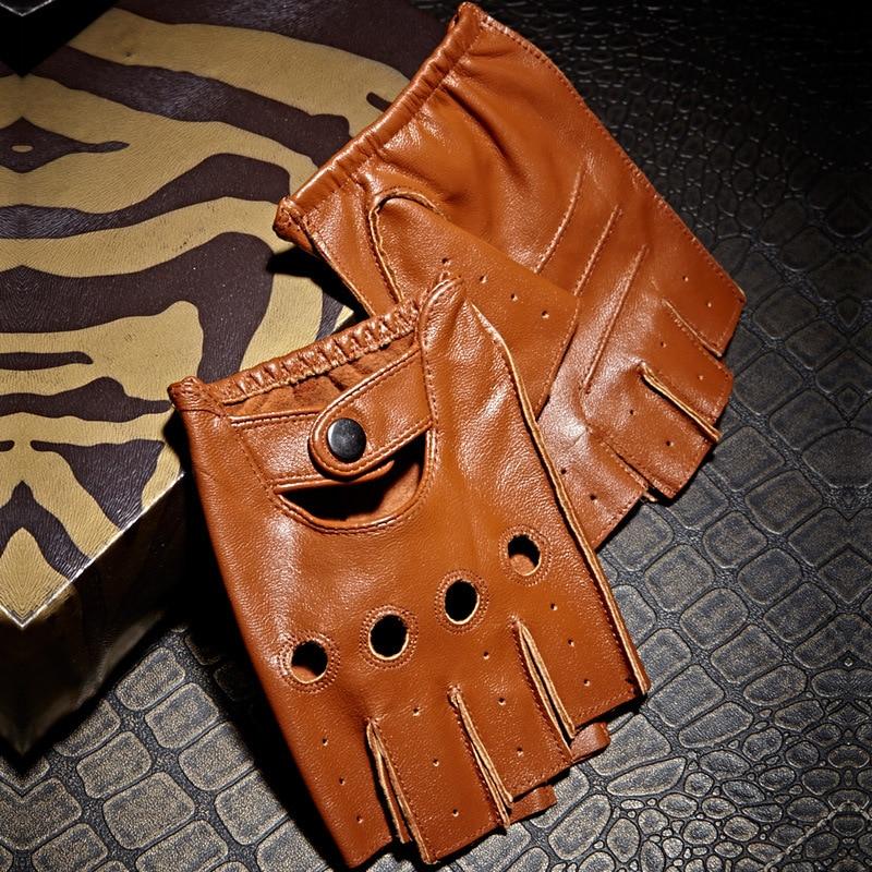 Γνήσια δερμάτινα γάντια με - Αξεσουάρ ένδυσης - Φωτογραφία 4