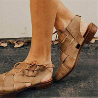 European American man Sandals Men shoes 2019 Gladiator Men's Sandals Roman Unisex Shoe Summer Flip Flops Gray Black Flat Sandals