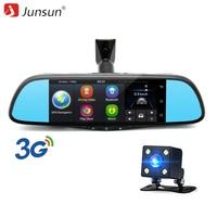 Junsun Car DVR Camera Mirror 3G Special Auto 7 Android 5 0 Dash Cam Full HD