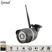HD 1080 P Ночного Видения Водонепроницаемая Камера Видеонаблюдения Аудио Открытый IP Wi-Fi Камера Sony 322 Камеры Системы Безопасности P2P Onvif 2.0