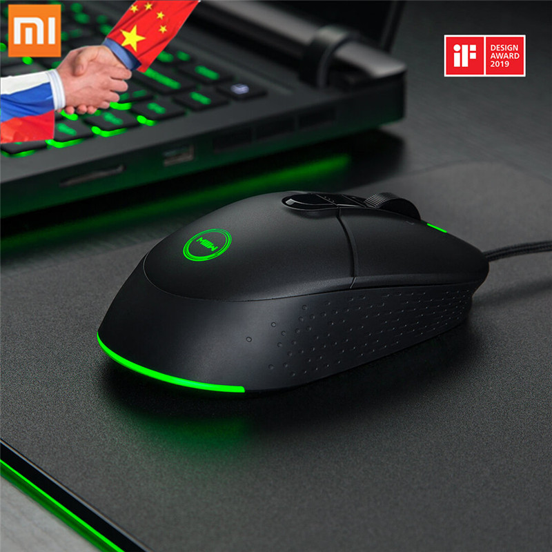 Xiaomi Mouses Computer-Mouse-Gamer Miiiw-Gaming-Mouse Optical 7200DPI Rechargeable 700G