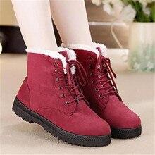 Зимние сапоги; коллекция года; Классическая обувь на каблуках; замшевые женские зимние ботинки; Теплые ботильоны на меху с плюшевой стелькой; женская обувь; популярная женская обувь на шнуровке