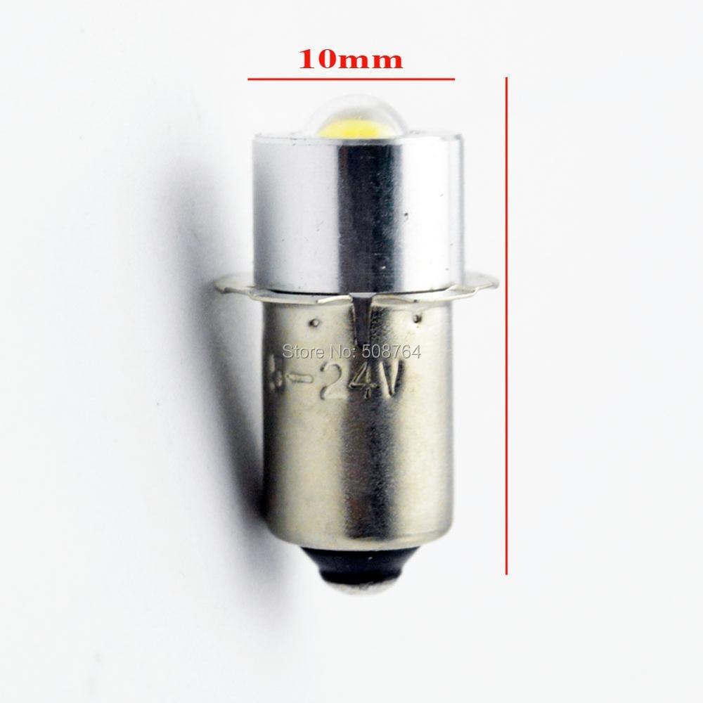 2 pcs / lot 3000 k 6000 k P13.5s 5 W Maglite LED Bulb Upgrade - Lampu mobil - Foto 3