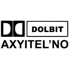 CS-034#12*29cm dolbit axyitelno funny musical car sticker and decal vinyl auto stickers