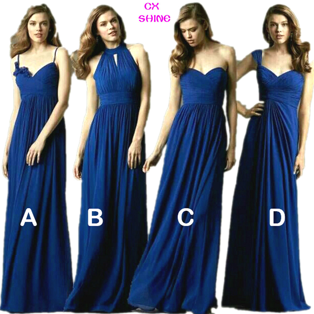 Customized bridesmaid dress promotion shop for promotional cx shine new custom color size sweet 4 style long bridesmaid dresses colors wedding dress prom party dress women plus size ombrellifo Choice Image