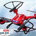 Dron Quadrocopter F181 Drones Com Câmera HD 4CH 2.4G 6-Axis gyro quad-vôo helicópteros Helicoptero de Controle Remoto