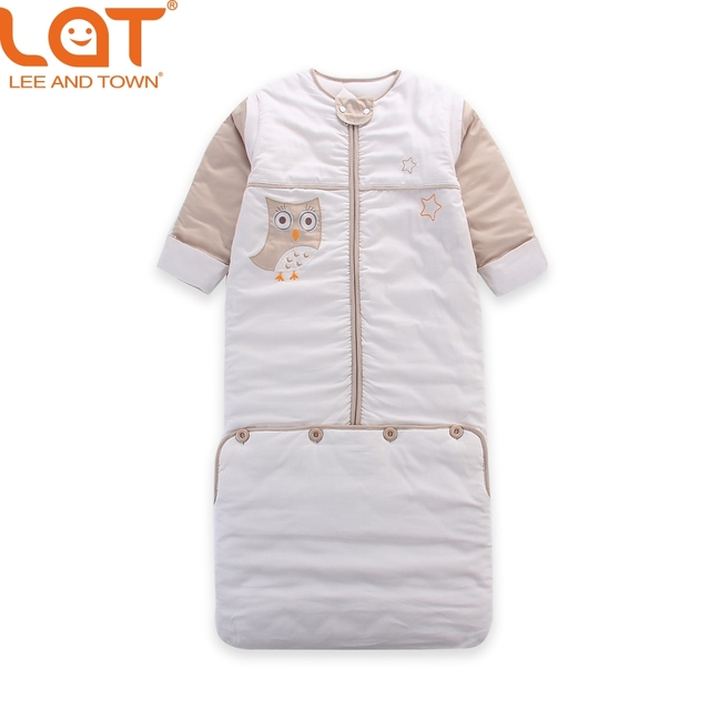 LAT Baby Toddler 110cm Length Winter Warm Sleeping Bag SleepSack Swaddle Thickness Wrap Bedding Set 2.5 Tog for 0-5 Years Unisex