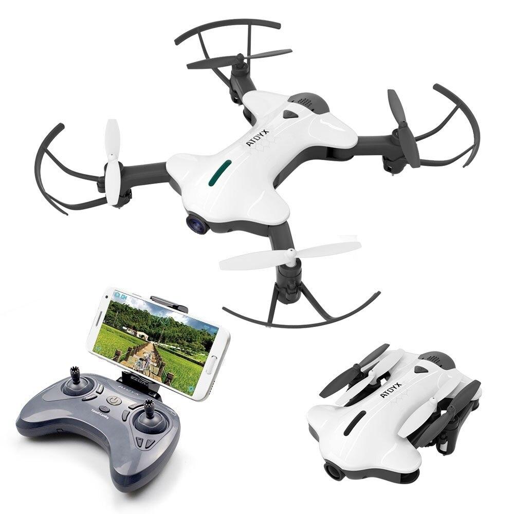 Mini Câmera FVP Quadcopter Zangão HD Quente WI-FI De Grande Angular HD de Alta Modo Hold Dobrável Braços UAV RC Dron 2 cores Enviados A Partir De Espanha